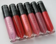 Nouba Millebaci Long Wear Lipstick. Where do I even begin????!!! No.46 is…