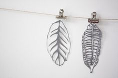 Original Paper Cut Leaves by mrYen on Etsy