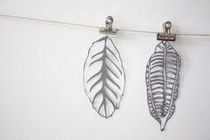 papercut leaves