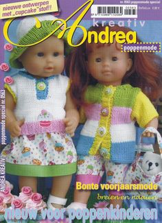 Dolly Fashion, Diy Vetement, Baby Born, Knitted Dolls, Doll Clothes, Catalog, Creations, Crochet Hats, Album