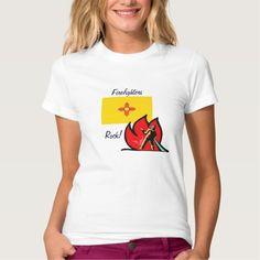 New Mexico Firefighters Rock T-T Shirt, Hoodie Sweatshirt