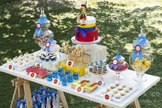 I love a unique birthday party theme and the girls at Lettuce & Co. created this perfectly sweet Pinocchio party for a first birthday party celebration.