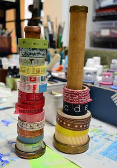 """""""Every Life Has a Story!"""" - {Roben-Marie Smith}...love this for if I ever have a real crafting space...."""