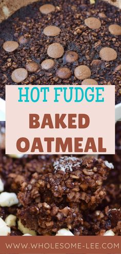 Low Carb Breakfast, Breakfast Dishes, Vegan Breakfast, Oatmeal Flavors, Baked Oatmeal Recipes, No Calorie Foods, Low Calorie Recipes, Healthy Recipes, Healthy Brownies