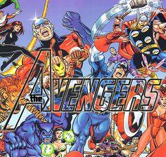 #Vintage #Avengers    I'd go for a more popular look, but eh...I think I'll be more of a geek and a fanboy.