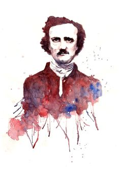 E. A. Poe by Nachan.deviantart.com