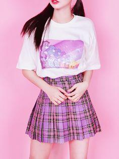 ☆彡 Fairy Kei ☆彡 Decora ~ Kawaii fashion ~ j fashion ~ harajuku ~ gyaru ~ fairy kei ~ lolita fashion ~ gothic lolita ~ pastel goth ~ cute skirt ~ tartan skirt
