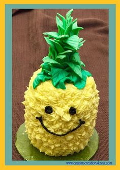 pineapple shaped cake pineapple cake made by irmayris cakes fete 6546