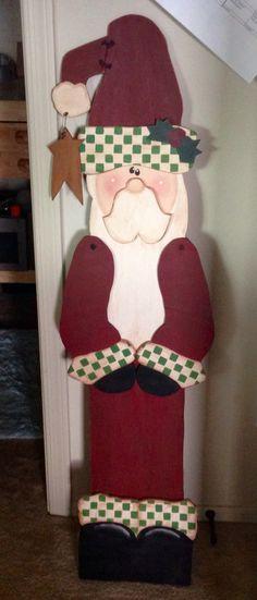 Standing tall Santa