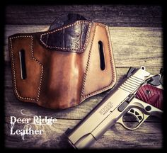 A personal favorite from my Etsy shop https://www.etsy.com/listing/502426549/leather-holster-1911