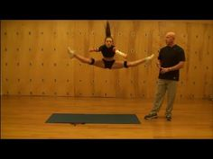 Toe Touch | How to Jump Higher | Training with the Cheer Jump Bands - YouTube