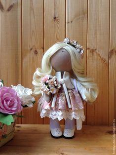 Коллекционные куклы ручной работы. Ярмарка Мастеров - ручная работа. Купить Кукла текстильная ручной работы Sharlis.. Handmade. подарок