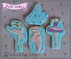 Dulcekoala Galletas Decoradas... y otros dulces...: BALLET COOKIES ---Y además--- ♥ VIDEO TUTORIAL: Cómo hacer UN CUADRO CON TUS GALLETAS. !!FACILÍSIMO!!