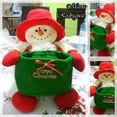Christmas Mood, Very Merry Christmas, Felt Christmas, Christmas Themes, Holiday Decor, Snowman Crafts, Diy And Crafts, Christmas Crafts, Christmas Ornaments