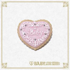 Baby, the stars shine bright Icing Cookie brooch