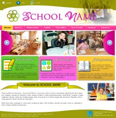 School Website Layout/Template #schoolwebsitedesign #customwebdesign #webdesign #website #avocadosoft #websitetemplate #websitelayout  #websitedesign #layout #template #schoolwebsitedesign