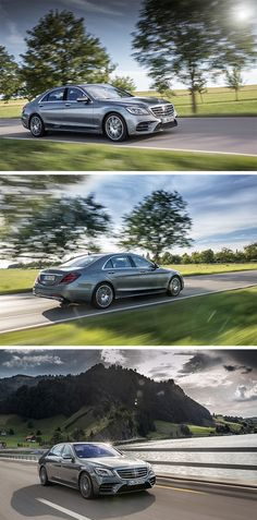 Classy on every street: The Mercedes-Benz S-Class.
