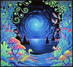 Psychedelic Ambient Trance Psychill: 25 Psychedelic Tapestries And Where To Buy