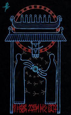 Навь - The Nav (Underworld) Pagan Art, Ukrainian Art, What Inspires You, Sacred Art, Conte, Folklore, The Magicians, Celtic, Fantasy Art