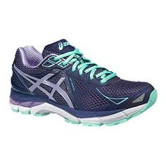 bfe6a6b617c ASICS Women s GT-2000 3 Running Shoes - Purple Blue Stability Running Shoes