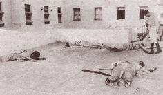 CUBA 1952-1958- Huellas de una dictadura . La juventud cubana había dejado la vida en los pasillos y dependencias del Cuartel Moncada el 26 de julio. Los cuerpos sangrantes de los revolucionarios fueron dejados así durante largas horas. Muchos tenían el cráneo destrozado como si hubieran sido alcanzados por balas explosivas. Era el inicio de la más sangrienta represión que conoció Cuba