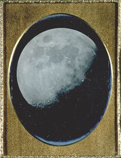John Adams Whipple The Moon, August Daguerreotype Museum Photography, Night Photography, Art Photography, Moon Pictures, Pretty Pictures, Moon Pics, Vintage Moon, Star Images, Science Museum