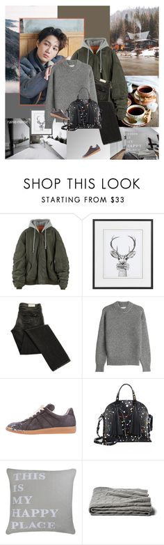 """Winter:The everlasting story"" by rainie-minnie ❤ liked on Polyvore featuring DKNY, Maison Margiela, Loeffler Randall, Park B. Smith, bomberjacket, personalstyle and knitsweater"