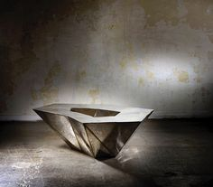 Table basse Lunar, Julian Mayor (Galerie Armel Soyer)