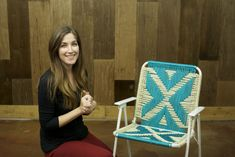 Macrame lawn chairs