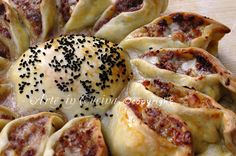 Girasole rustico con carne e formaggio ricetta vickyart arte in cucina