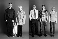 The Family é um projeto simples (mas brilhante!) do fotógrafo Zed Nelson, que resolveu documentar a vida de uma jovem família de amigos que estavam com um filho prestes a nascer, e tirar uma foto uma vez por ano, todos os anos, com o mesmo pano de fundo e a mesma luz. Desde 1991, ele vem documentando a família, o que resulta em uma experiência épica, que mostra claramente o passar do tempo para essas pessoas, e obviamente com mais evidência o bebê que vai crescendo na frente de nossos olhos…