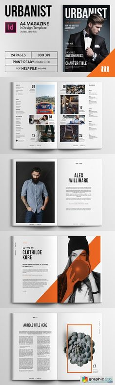 20 Premium Magazine Templates for Professionals | Magazine layouts ...
