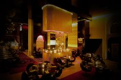 AZAR Marrakech | Restaurant et Club » The restaurant. Really enclusive