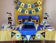 "Batman Theme Birthday Party / Birthday ""Elijah's Birthday Party"" 