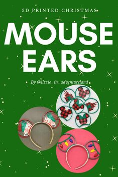 Christmas Mouse Ears 2019 – Lizzie In Adventureland You are in the right place about Disney Home Dec Disney Vacation Club, Disney Vacation Planning, Disney Vacations, Disney Trips, Disney Travel, Disney Christmas Shirts, Disney World Christmas, Mickey's Very Merry Christmas, Christmas Holidays