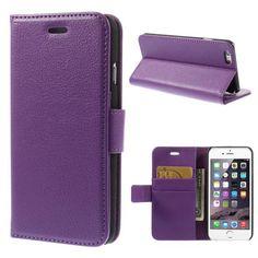 Köp Plånboksfodral Apple iPhone 6/6S lila online: http://www.phonelife.se/planboksfodral-apple-iphone-6-6s-lila
