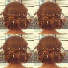 Wedding hair ♡