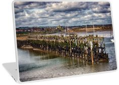 The End Of The Jetty laptop skin