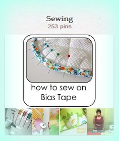 """Kim Copland: """"Sewing"""" Pinterest Board.  Lots of great sewing projects!"""