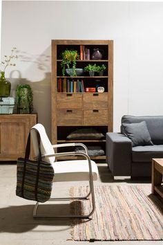 Dit interieur oogt fris en modern.
