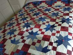 "Star Quilt Patterns Debbie Caffrey | Road to Oklahoma"" Quilt"
