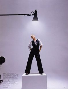 """""""Oh! You Pretty Thing"""": Kate Moss by Nick Knight for UK Vogue, May 2003 