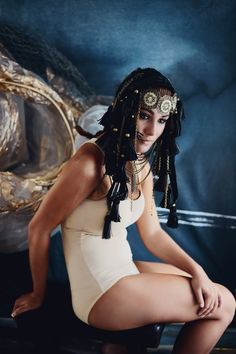 Makeup and Hair: Stacy Leigh with Fables Cosmetics Headdresses: Rae Beth Designs Model: Olivia Morgan Photography: Alana Beall wit. Olivia Morgan, Design Model, Wonder Woman, Superhero, Photography, Photograph, Fotografie, Photoshoot, Wonder Women