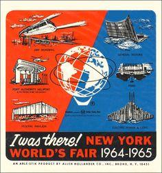 1964-65 New York World's Fair Souvenir Sticker