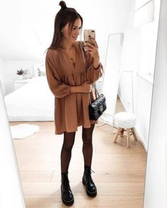 What to Wear in 60 Degree Weather: 45 Best Outfit Ideas To Copy - Cute Outfit. What to Wear in 60 Degree Weather: 45 Best Outfit Ideas To Copy - Cute Outfits Casual Winter Outfits, Fall Outfits, Summer Outfits, Stylish Outfits, Girly Outfits, Dress Casual, Simple Outfits, Fall Dresses, Classy Outfits