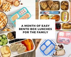 A Month of Easy Bento Box Lunches - Kinsho Kitchen Lunch Box Containers, Easy Lunch Boxes, Bento Box Lunch, Bento Lunchbox, Lunch To Go, Lunch Menu, Best Bento Box, Cold Lunches, Snacks For Work