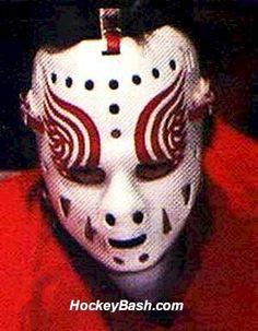 Jim Rutherford | Detroit Red Wings | 1974 Rangers Hockey, Ice Hockey Teams, Hockey Goalie, Detroit Hockey, Detroit Sports, Jim Rutherford, Original Six, Red Wings Hockey, Goalie Mask