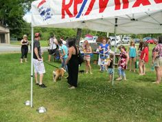Dog Day in the Park...annual event open to the community raising funds for our local SPCA!