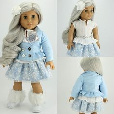 """Motorcycle Jacket 18"""" Doll Clothes 