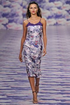 House of Holland Spring 2014 #LFW. The collection was a fashion cocktail of tattoo prints, patchwork gingham and Mexican influences.